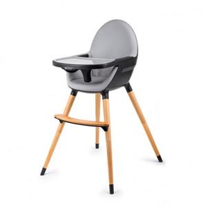 KINDERKRAFT high stolica za hranjenje 2u1 fini black KKKFINIBLK0000