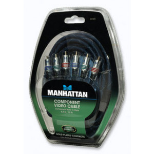 MANHATTAN MH Komponentni video kabl 4,5 m, 3kRCA / 3kRCA 361835