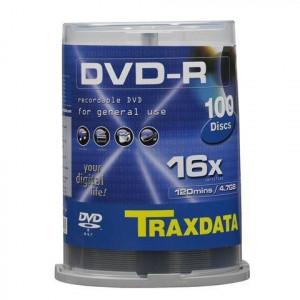 TRAXDATA DVD disk DVD-R 4.7GB C100