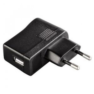 HAMA kućni punjač sa USB ulazom, 5V /1A, crni (12108)