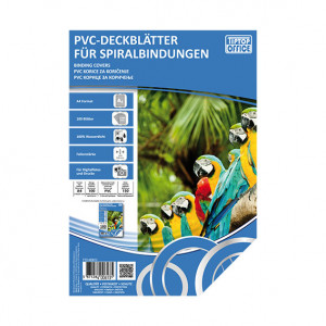 TIPTOP Folija PVC 180 mic Transparent A4
