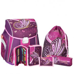 SPIRIT torba set BUTTERFLY Purple MK 18