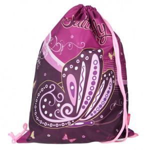 TTS SPORT torba butterfly purple 18