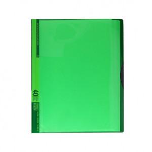 TIPTOP fascikla 40 folija neon zelena