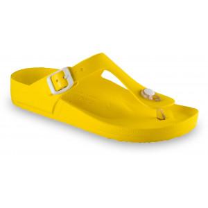 GRUBIN ženske papuče 3933700 TAKOMA LIGHT Žute