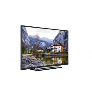 """TOSHIBA 39L3733DG LED TV 39"""" Full HD SMART DVB-T uni-stand black"""