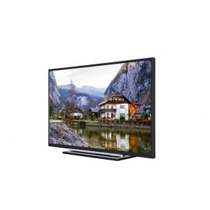 """TOSHIBA televizor 39L3763DG LED TV 39"""" Full HD SMART T2 black/silver uni-stand"""
