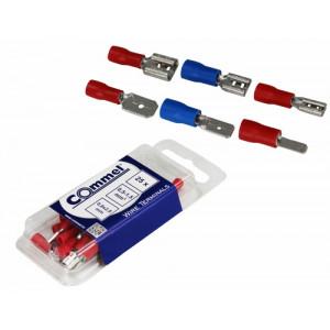 COMMEL utikač za zicu 0.5-1.5mm2 0.8x2.8mm 25kom C365-811