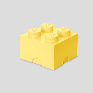 LEGO kutija za odlaganje (4): Hladno žuta