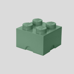 LEGO kutija za odlaganje (4): Peščano zelena