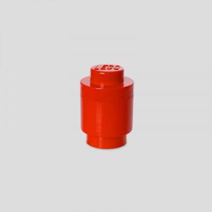 LEGO kutija za odlaganje, okrugla (1): Crvena