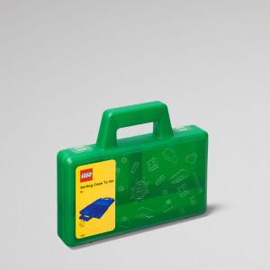 LEGO koferče za sortiranje: Zeleno