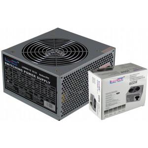 LC-Power LC600H-12 V2.31 600W, 120mm, 20/24 pin, 4x PCI-E (6/8), SATA