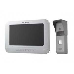 HIKVISION Antivandal - Analogni video interfonski set pozivna tabla i Monitor DS-KIS203 4916