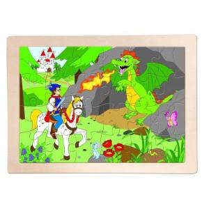 WOODY puzzle princ bajaja 91158