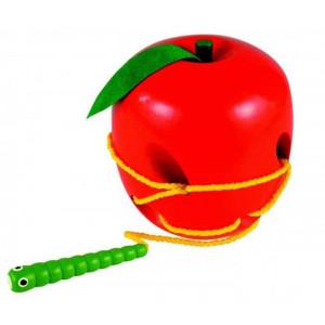 WOODY igra pertlanja jabuka i crv 90471