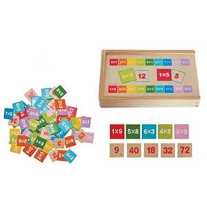 WOODY učenje matematike u kutiji množi i deli 91161