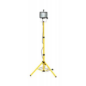 COMMEL halogeni reflektor žut stativ 230V 400W crni (C46780-1)