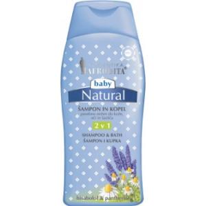 AFRODITA Natural Šampon i kupka 2u1 BABY 200ml