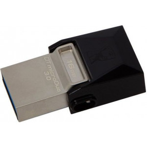 KINGSTON 16GB DT MicroDuo USB 3.0 metal-braon DTDUO/16GB