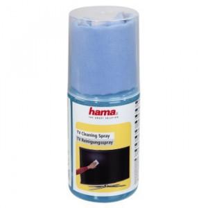 HAMA sredstvo za čišćenje PLAZMA/LCD ekrana sprej + tkanina 95878