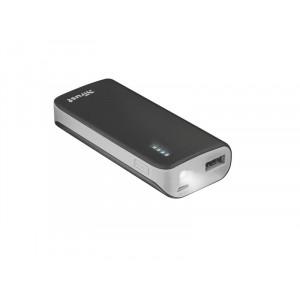 TRUST baterije primo PowerBank 4400 prenosivi punjac crni 21224