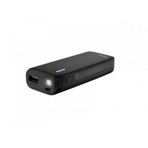 TRUST baterije primo PowerBank 4400 prenosivi punjac crni 22135