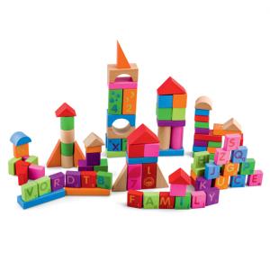 PINO Edukativne kocke-blokovi 100 komada 8477