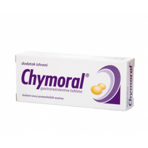 Chymoral forte gastrorezistentne tablete