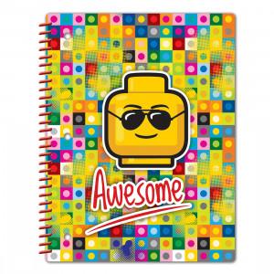 LEGO sveska sa spiralom: Awesome