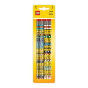 LEGO 6 grafitnih olovaka sa gumicama