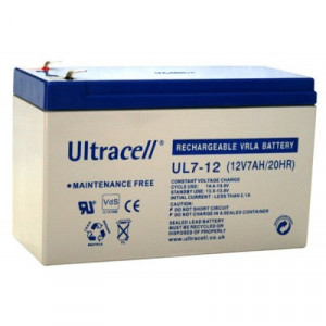 ULTRACELL akumulator 7Ah/12V 1846