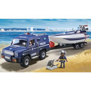 Playmobil Policijsko vozilo PM-5187