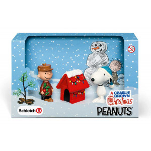 SCHLEICH figurice snoopy slavi božić 22017