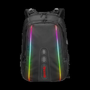 Ranac Marvo BA02 gejmerski crni sa RGB osvetljenjem + poklon bluetooth zvucnik 027-0094