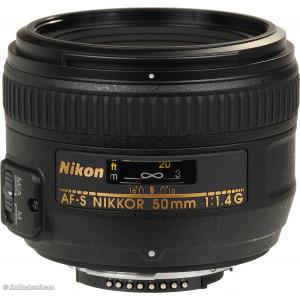 NIKON Obj 50mm F1.4G AF-S 14598