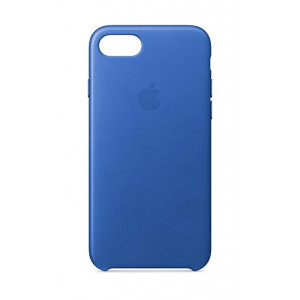 APPLE iPhone 8/7 Leather Case - Electric Blue MRG52ZM/A