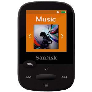 SANDISK Mp3 plejer SDMX28-016G-G46K 16Gb crni