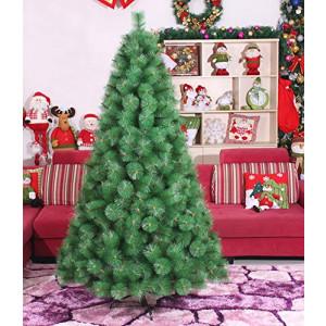 Novogodišnja lux jelka 180 cm Bor 775 tamno zelena sa Metalnim Postoljem*