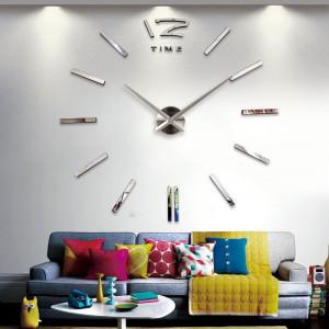 3D Samolepljivi zidni sat T4310S