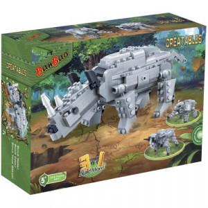 BANBAO dinosaur transformers 3 u 1 6851