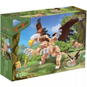 BANBAO dinosaurus transformers 3u1 6853