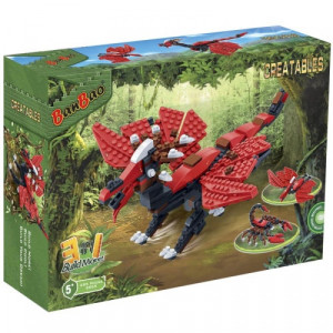 BANBAO dinosaurus transformers 3u1 6855