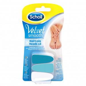 SCHOLL Nail Care Heads zamenski ulošci za turpiju za nokte 410253