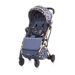 CHIPOLINO Kolica za bebe VIBE 6+  denim sky 710103