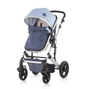 CHIPOLINO Kolica za bebe sa autosedištem TERRA sky blue 710092