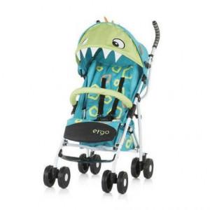 CHIPOLINO Kišobran kolica za bebe ERGO 6+ blue baby dragon 710102