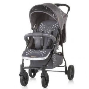 CHIPOLINO Kolica za bebe MIXIE granite gray 710109