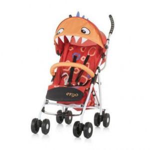 CHIPOLINO Kišobran kolica za bebe ERGO 6+ red baby dragon 710101