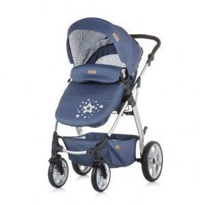 Chipolino Kolica za bebe Fama blue 710071